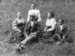 Georgia family, 1899 or 1900
