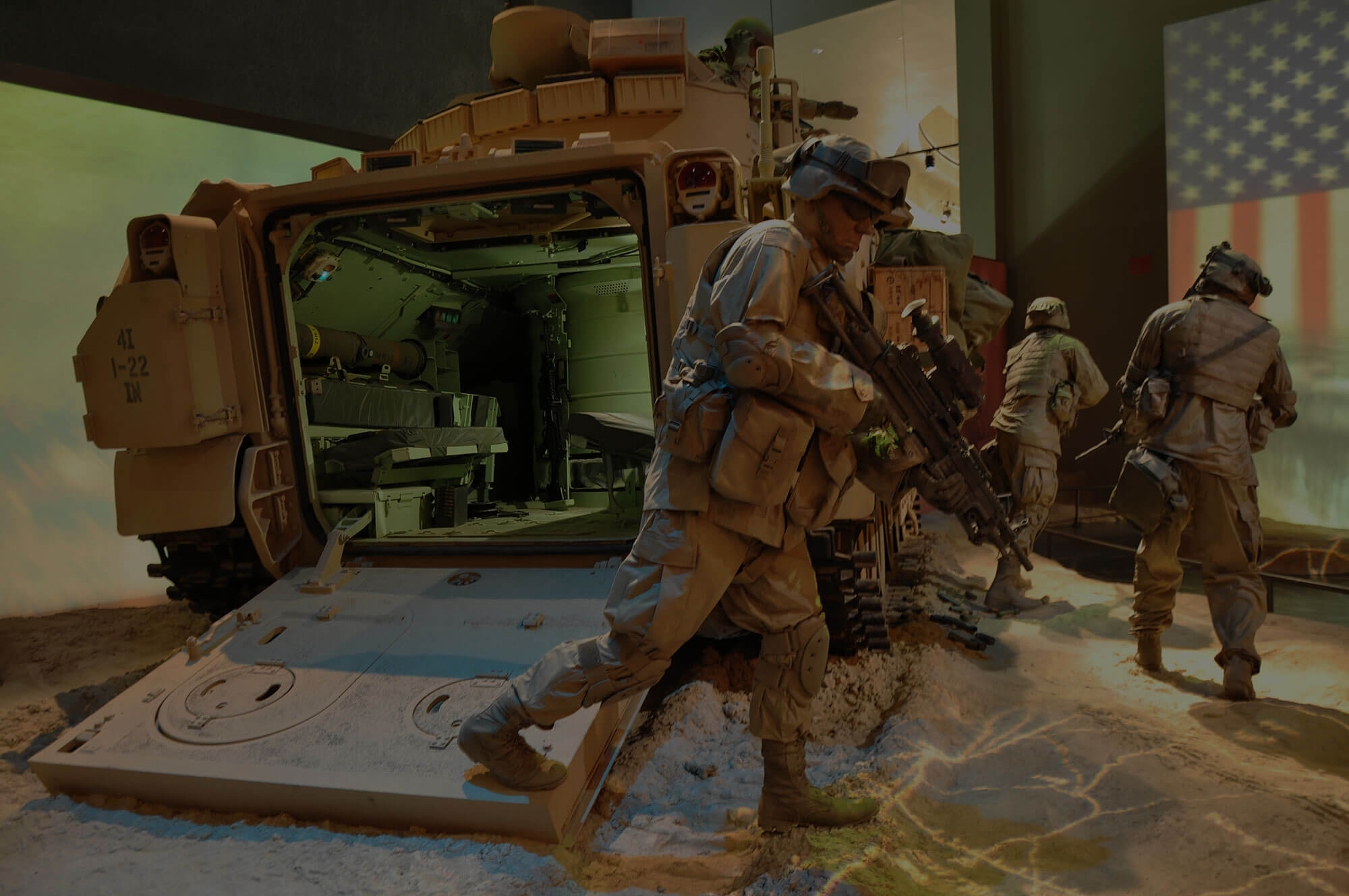 Interactive Exhibits At The National Infantry Museum