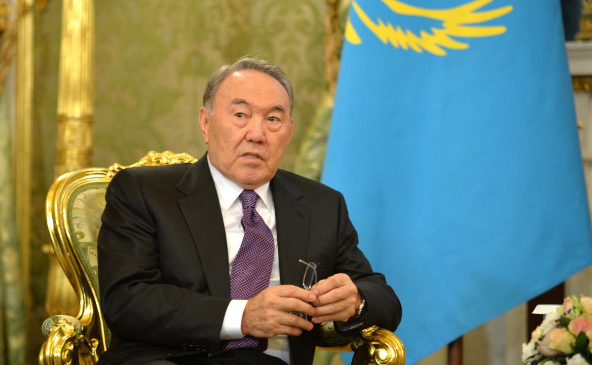 President of Kazakhstan Nursultan Nazarbayev. Kremlin.ru