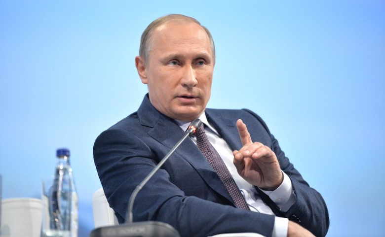 Vladimir Putin at the St. Petersburg International Economic Forum. Kremlin.ru