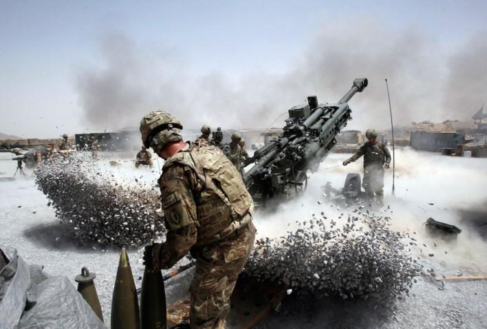 Image result for us forces afghanistan artillery