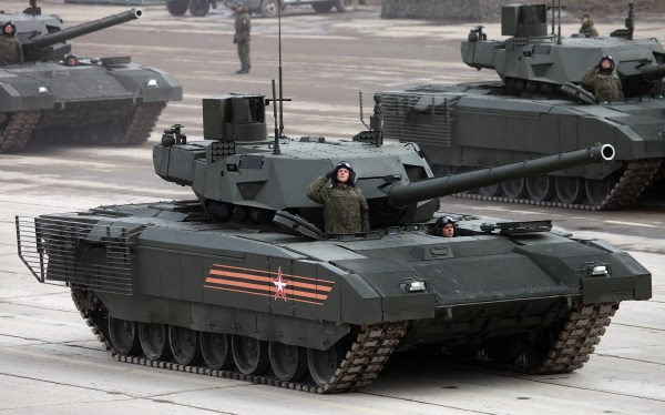 Tank Terror: Just How Deadly is Russia's New Armata Tank ...