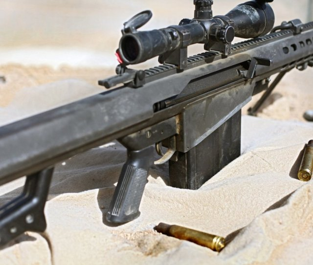 The Barrett M82 Sniper Rifle The Gun Every Military Fears Most