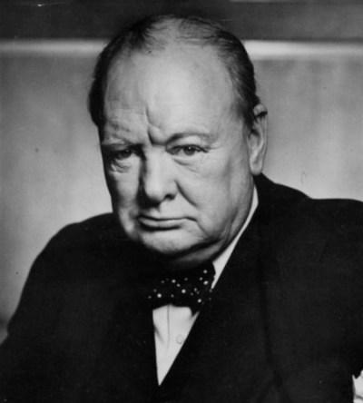 Winston Churchil, Premier ministre briannique.