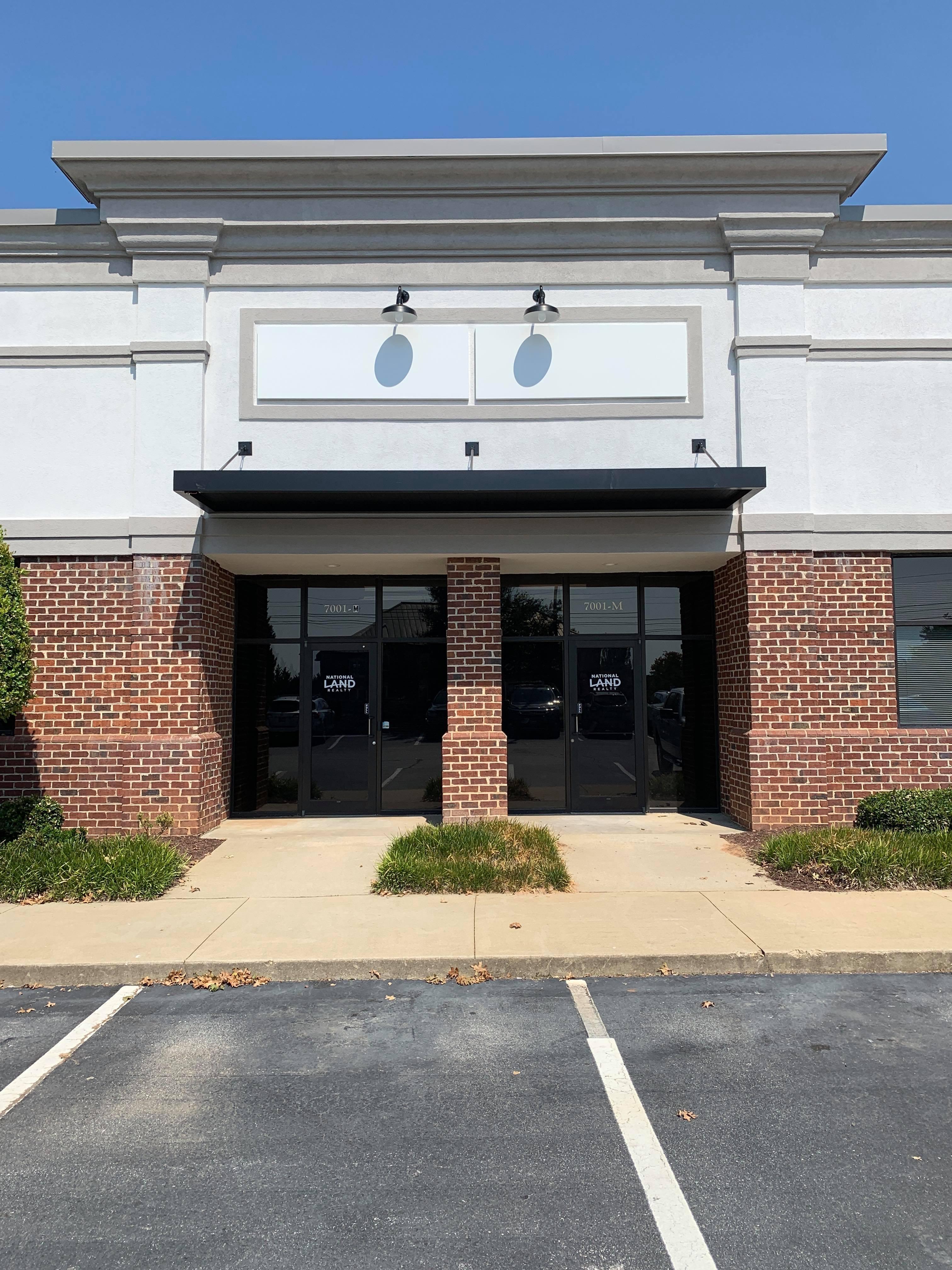 New Office Front Doors
