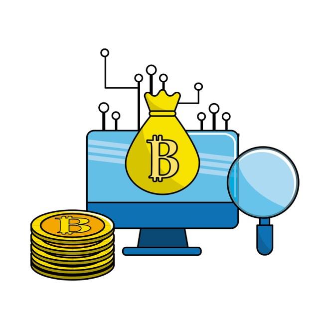bitcoin, farming, computer
