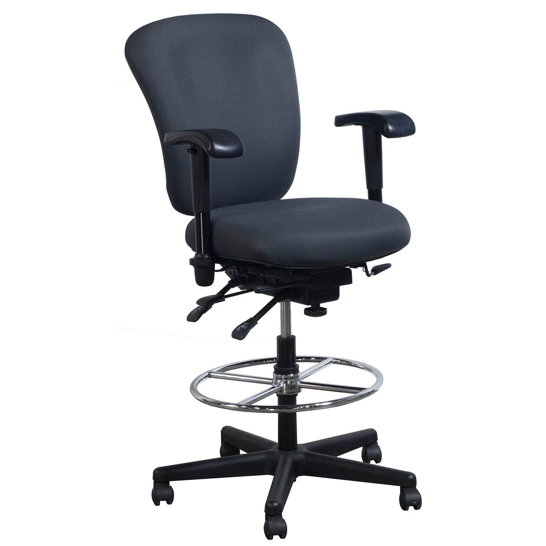 Ergonomic Comfort Design Vive 1405JS Used Stool Shadow
