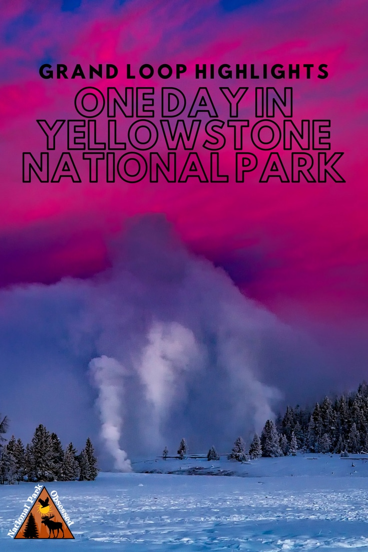 One day isn't enough but if one day in Yellowstone National Park is all you have.  Make the most of it by hitting the highlights on a tour of the Grand Loop.    #yellowstone #findyourpark #nationalparkobsessed #yellowstone #yellowstonenps #roadtrip #nationalparks #nationalpark #nationalparkgeek