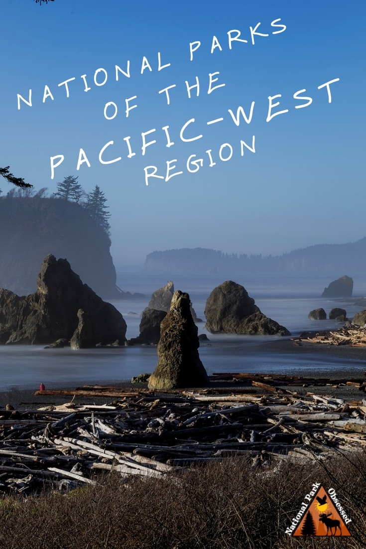 The Pacific-West Region of the United States is home to 63 national park service sites.  Here is a complete list of the national parks of the Pacific-West.  @findyourpark @nationalparkgeek