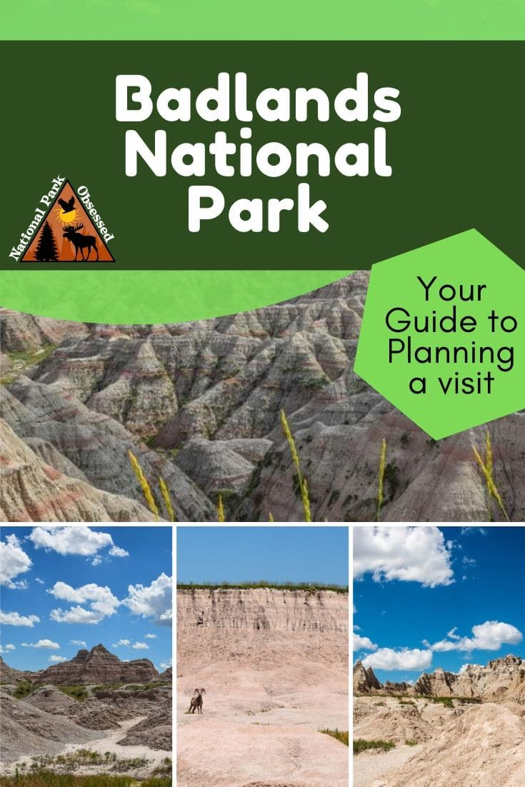 Planning to visit Badlands National Park, South Dakota, USA? Don\'t know where to start. Let National Park Obsessed help you plan your trip to #Badlands with guides, itineraries, things to know and much much more. #Nationalparkobsessed #nationalpark #findyourpark #southdakota #badlands #badlandsnationalpark #badlandsnps