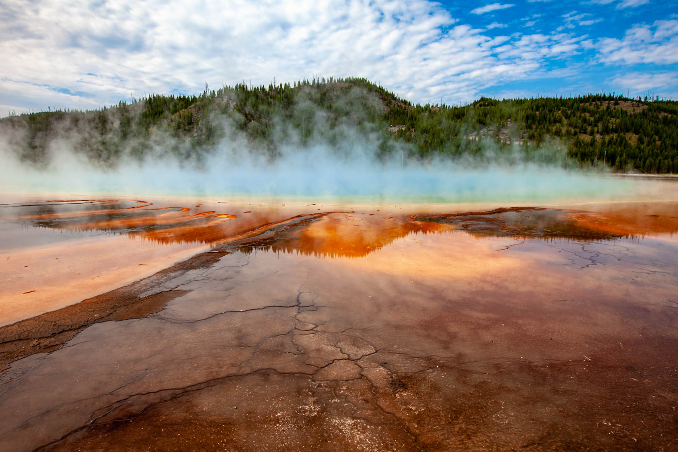 Grand Prismatic Spring Yellowstone #vezzaniphotography #national_park_photographer