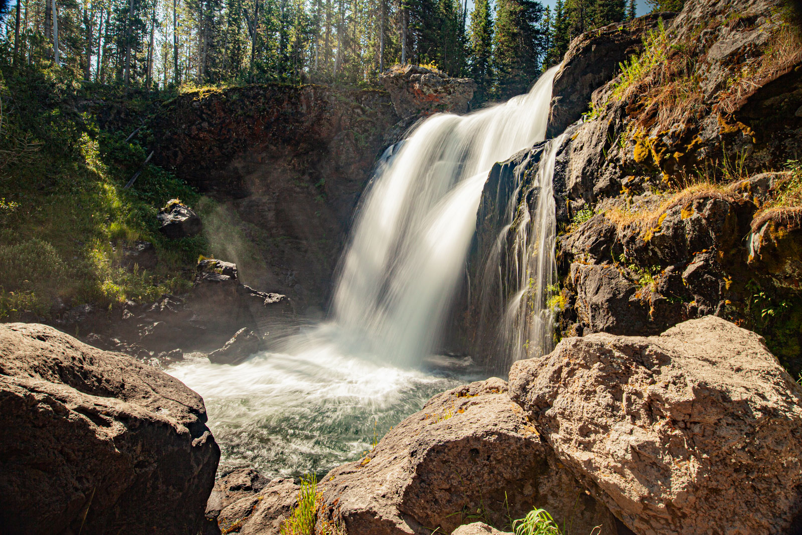 Moose Falls, Yellowstone National Park, Photo Credit: Vezzani Photography