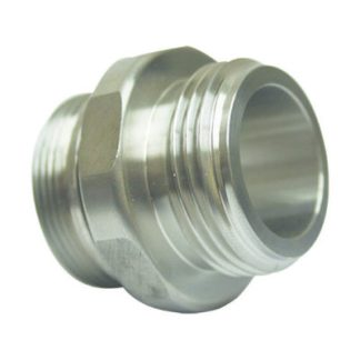 21GU-SFH Stainless Steel Fixed Hose Fitting