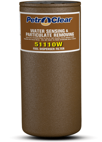 """PetroClear 1"""" Extended Life Water Stop High Flow Filter"""
