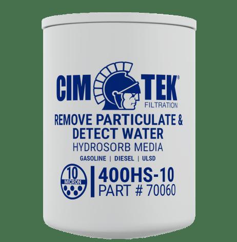 "CimTek 400HS-10 1"" Water Stop Filter"