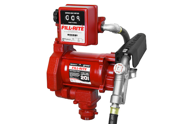 Fill Rite FR701V 115 Volt AC Pump with 807C Gallon Mechanical Meter