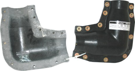 Dualoy 3000/LCX Clam Shell Elbow (90)