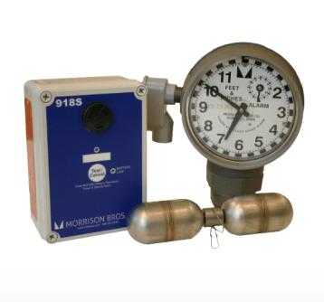 Morrison Bros 918 Clock Gauge w/ Alarm for DEF