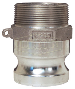 Dixon Global Cam & Groove Type F Adapter x Male NPT