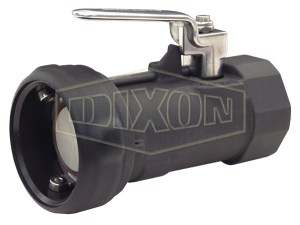 Dixon Bayonet Style Dry Disconnect Straight Coupler x Female NPT