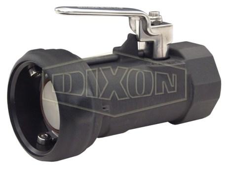 Dixon Bayonet Style Dry Disconnect Straight Coupler x Female NPT