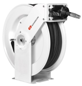 505 SERIES HEAVY-DUTY DOUBLE PEDESTAL ARM HOSE REEL
