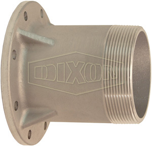 TTMA Flange x Extended Length Male NPT Adapter