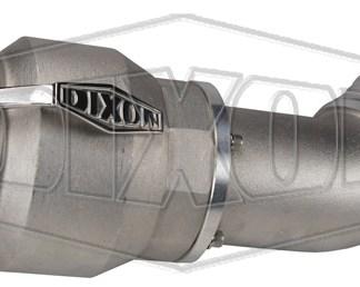 """Dixon® Vapor Recovery Coupler w/ 45° Hose Shank, 4"""" x 4"""""""
