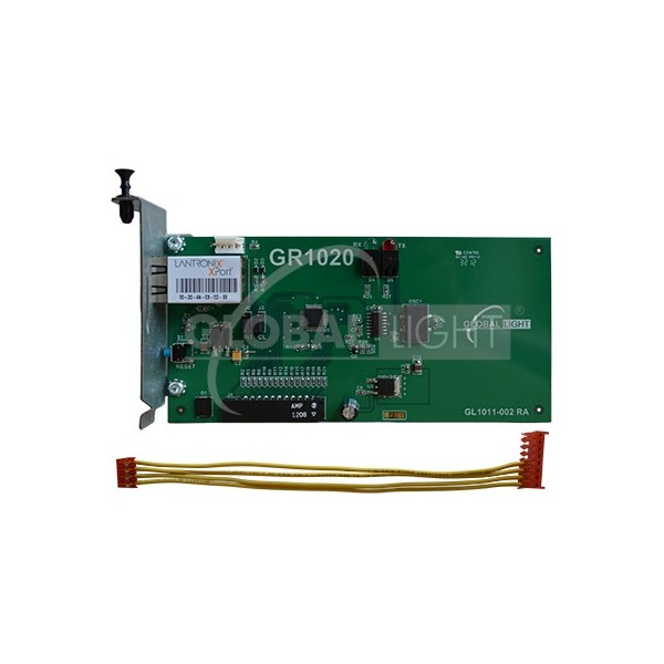 GR1020K-KIT Reference: TCP-IP 330020-425 Condition: New product Made to Replace: Ethernet communication board (includes connecting cable GL5702) made to work with Veeder-Root® TLS-350