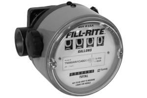 Fill Rite TN860 High Flow, High Pressure TN Series: Aluminum Nutating Disc Meter