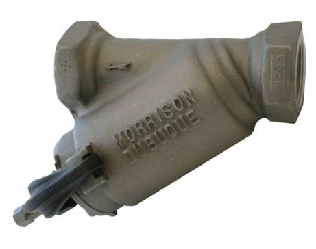 Morrison Bros 285AL Aluminum Bottom Clean Out Line Strainer