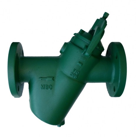 Morrison Bros 286FDI Top Clean Out Line Strainer - Flanged, Ductile Iron