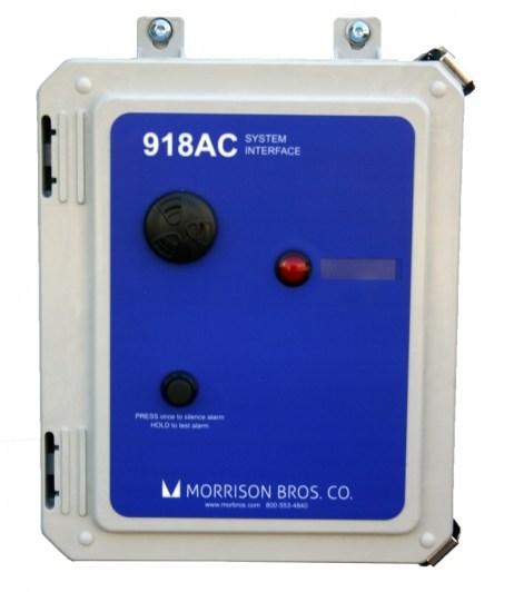 Morrison Bros 918AC System Interface