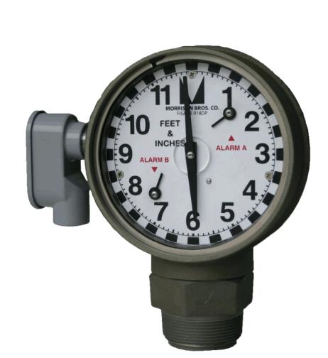 Morrison Bros 918DP Dual Point Clock Gauge
