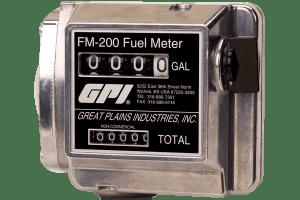 """GPI FM-200-G6N 3/4"""" Gallon Mechanical Fuel Meter"""