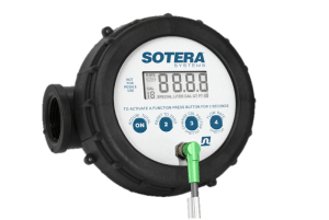 "Fill-Rite 825P 1"" Digital Display Nutating Disc Meter"