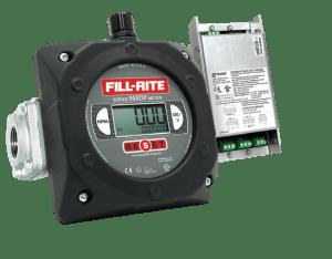 """Fill-Rite 900CDPBSPT 1"""" Digital Display Meter with Pulser Barrier, BSPT Threaded"""