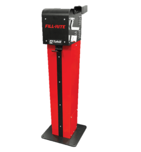 Fill Rite FR102PHU Remote Pedestal with Nozzle Hook