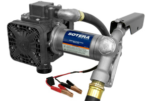 Fill Rite FR410B 12VDC Diaphragm Pump with Hose and Manual Nozzle