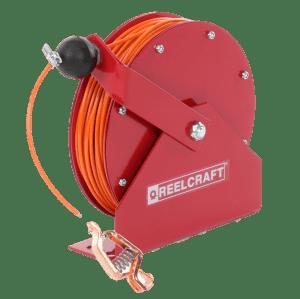 Reelcraft 100' Spring Retractable Grounding Reel