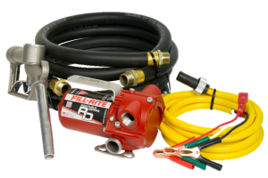 Fill Rite RD1212NH 12 VDC Portable Pump with Hose and Nozzle