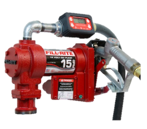 Fill Rite FR1219G 12 VDC Pump with In-line Digital Turbine Meter