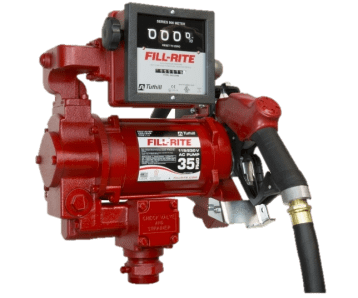 Fill Rite FR311VB 115/230VAC Pump with Automatic Nozzle and 901C Meter