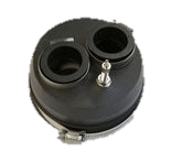 """OPW Flexworks 4"""" Fuel Oil Boot Transition Assembly with Air Stem"""