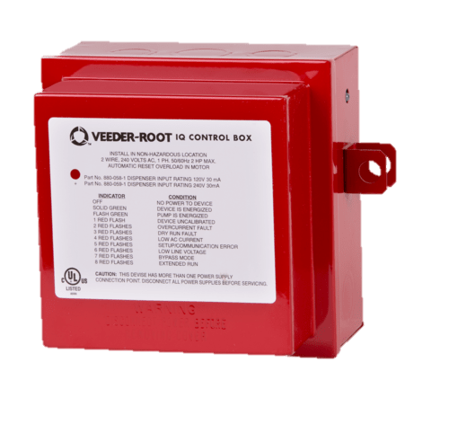 Red Jacket IQ Control Box w/ 2HP fixed speed capacitor
