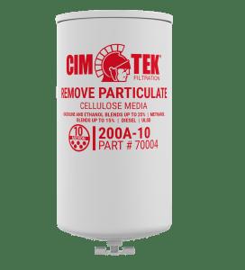 "CimTek 200A-10 Series 1"" Filter w/ Drain"
