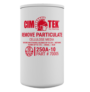 "CimTek 250A-10 Series 1"" Pariculate Filter"