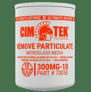 """CimTek 300MG-10 BioFuel 3/4"""" Particulate Filter"""