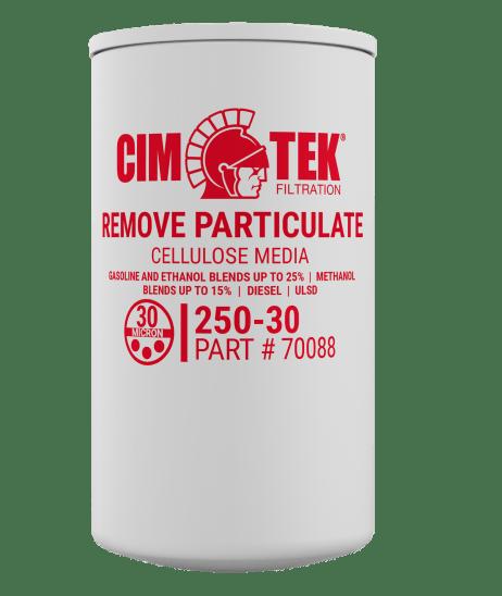 """CimTek 250-30 3/4"""" Particulate Filter"""