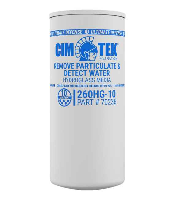 CimTek 260HG-10 Hydroglass Water Stop Filter